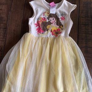 Girls Disney Princess Belle Dress